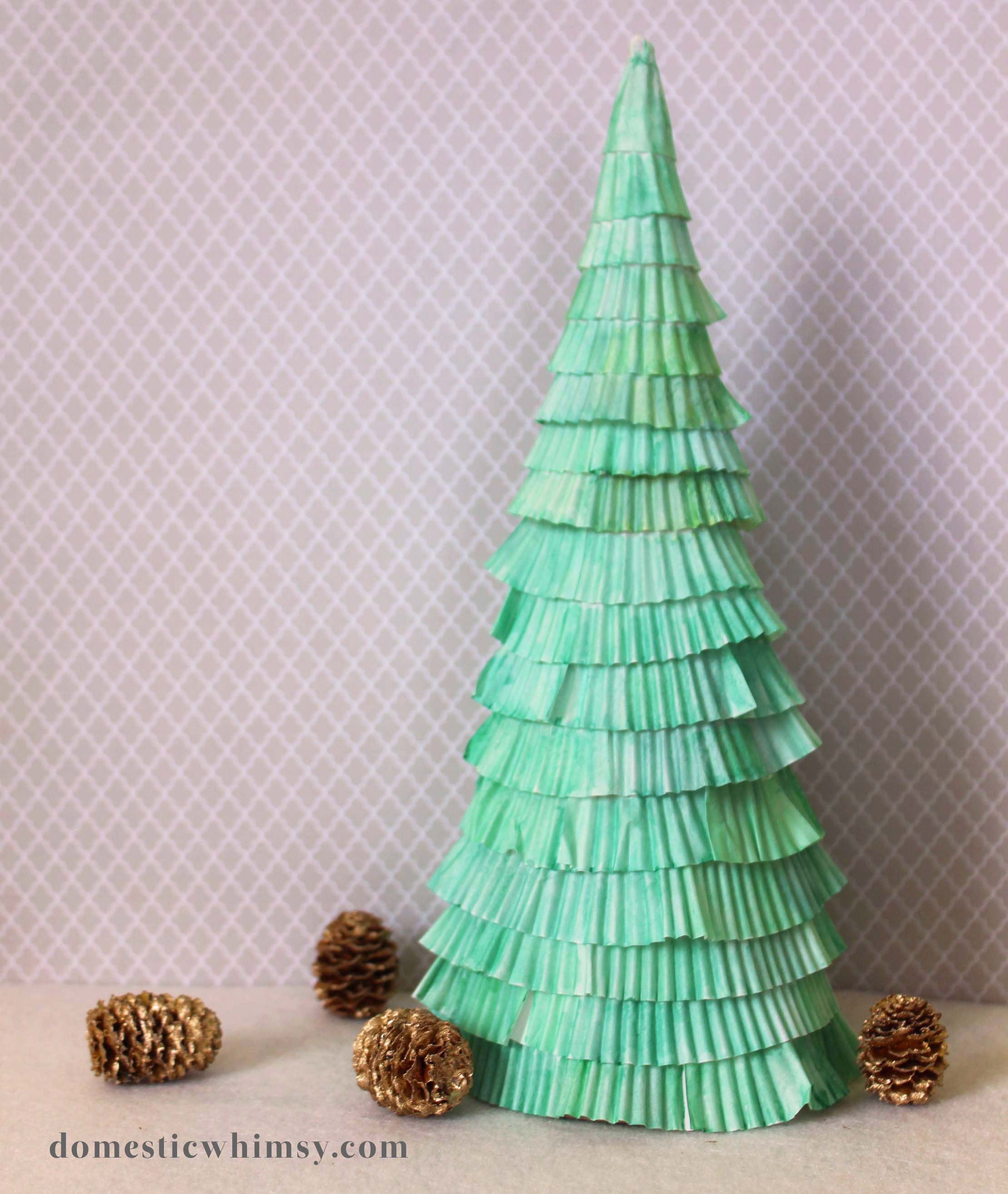 unique christmas tree diys alternative christmas tree ideas