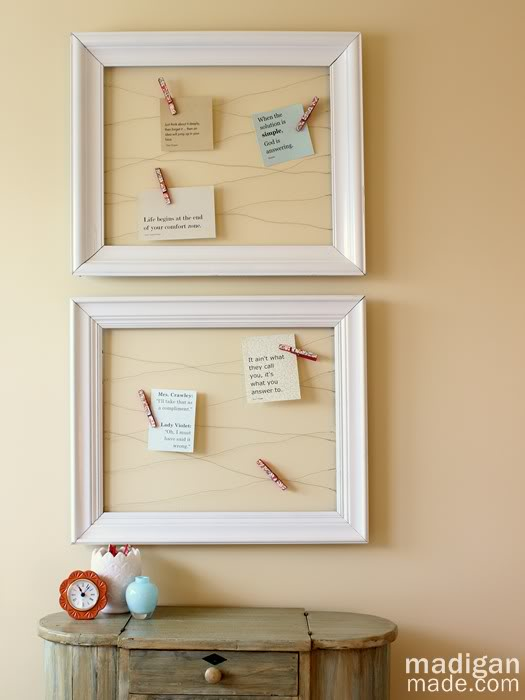 things to make with empty frames thrift store and vintage frame diy