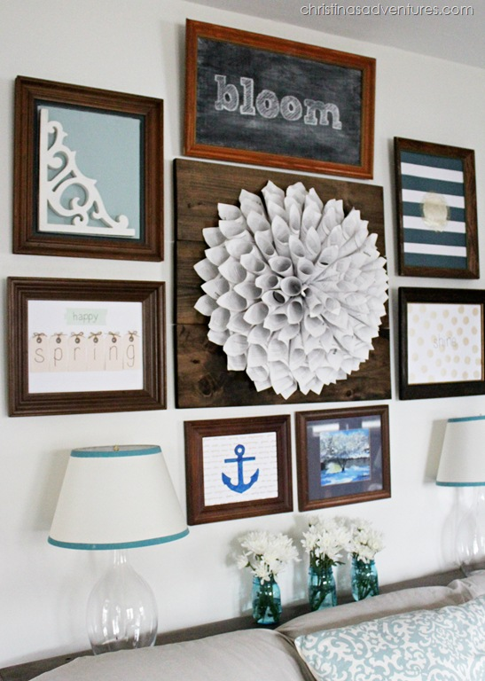 Gallery Wall unique gallery wall ideas - how to hang a gallery wall