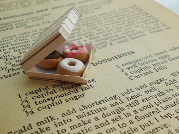 Adorable Doll House Miniatures - Mini Food and Home Decor