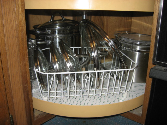 Kitchen Storage Ideas For Pots And Pans pot lid organizers - kitchen organizing ideas