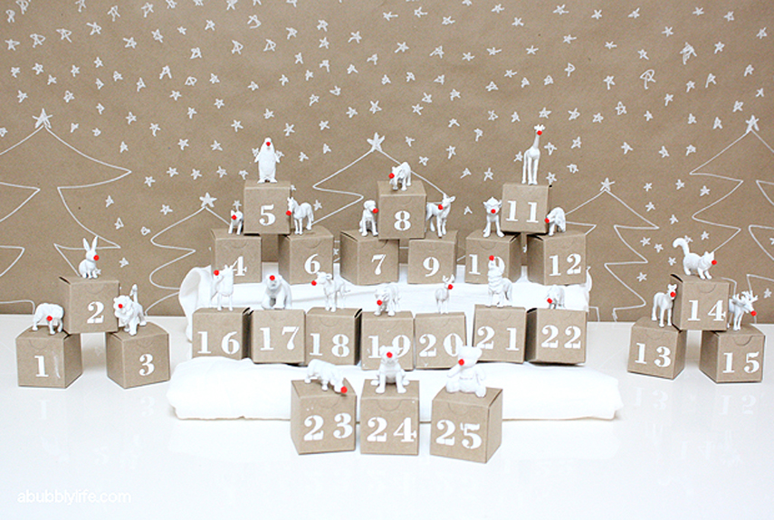 Diy advent calendars christmas decorations for Diy christmas advent calendar ideas