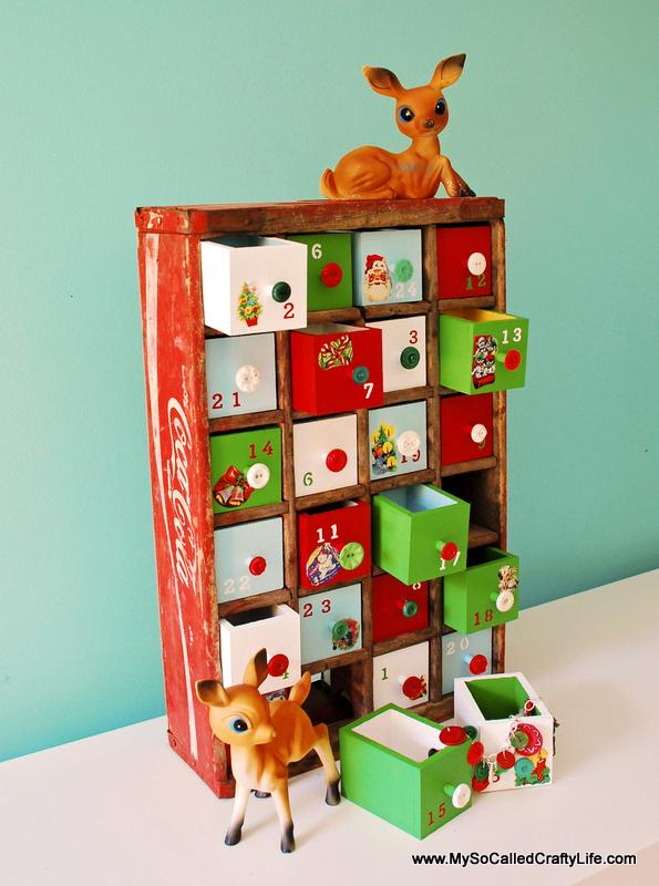 Diy advent calendars christmas decorations solutioingenieria Gallery