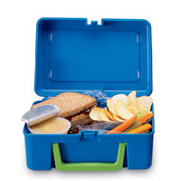 how to clean a smelly lunch box