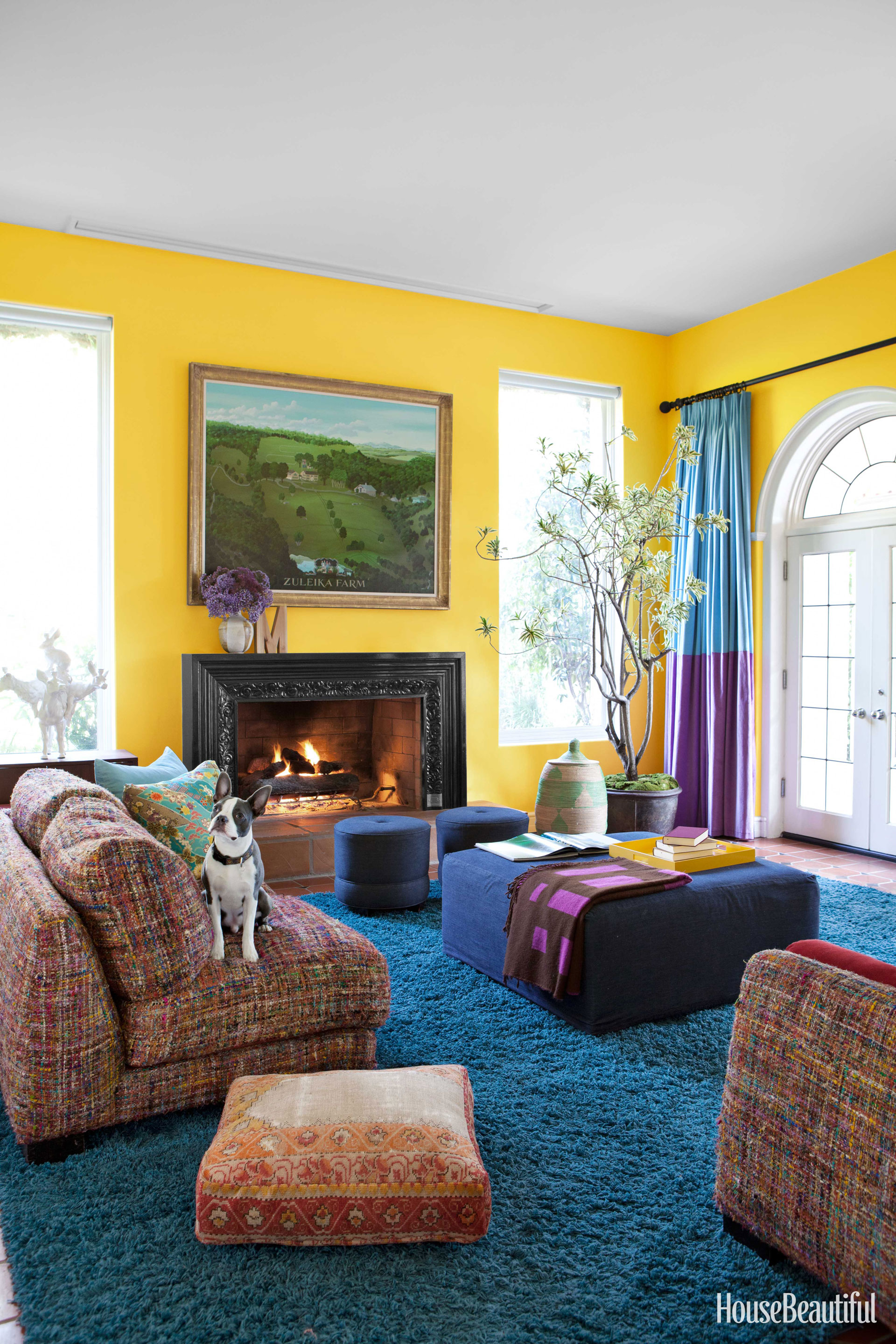 What your living room color says about you the meaning - What is the meaning of living room ...