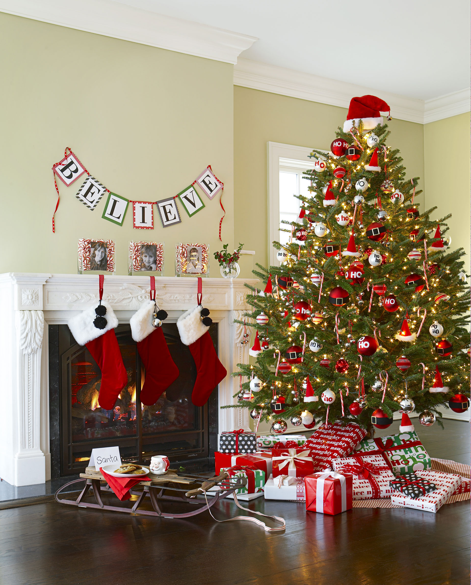 Decorated Christmas Tree Ideas Pictures Of Christmas Tree - Best red christmas decor ideas