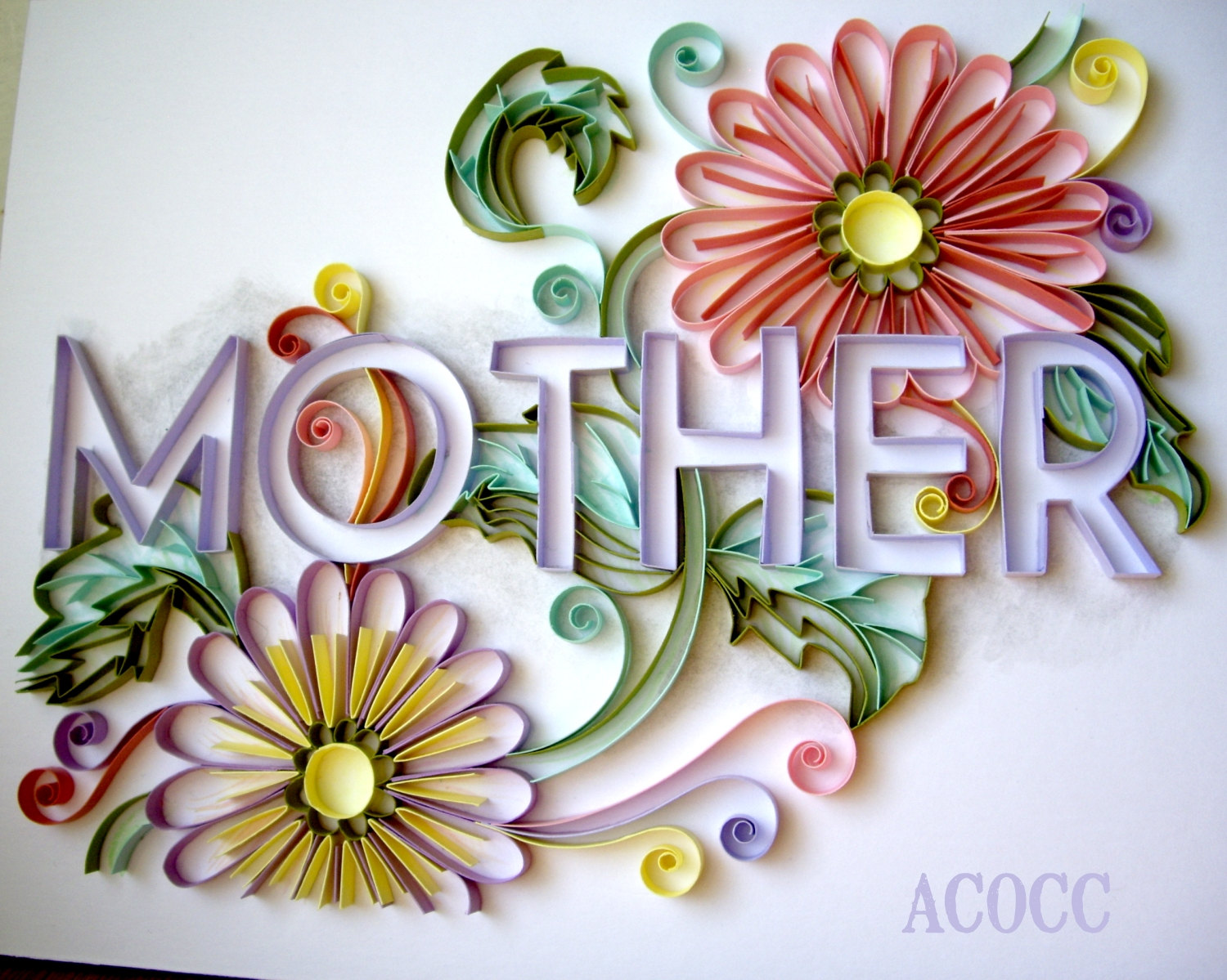 Quilling Home Decor Paper Quilling Art On Etsy Handmade Paper Crafts