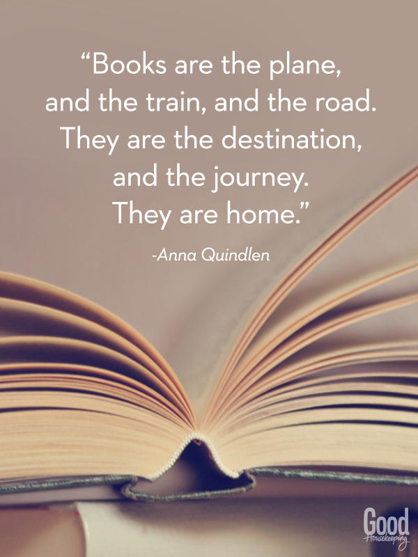 quotes books reading lovers famous lover journey quote favorite read library re words quindlen train awesome ever being poster goodhousekeeping