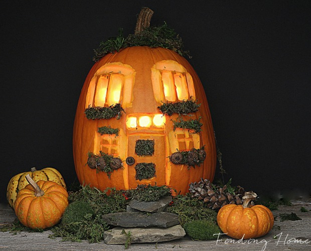 Unique pumpkin carving ideas halloween jack o 39 lantern ideas for Different pumpkin designs