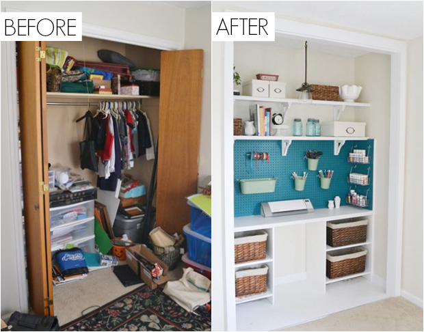 This Formerly Untidy Space Is Completely Unrecognizable Now.