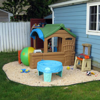 backyard play areas for kids make your own backyard play