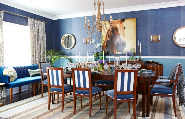 Casual formal dining room dining room decorating ideas for Formal dining and living room ideas
