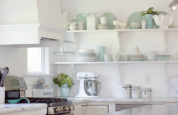 7 reasons to try kitchen open shelving - Open Shelves Kitchen Design Ideas