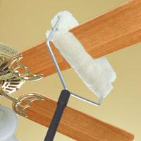 Wool Shop Lambs Wool Ceiling Fan Duster Ceiling Fan Duster