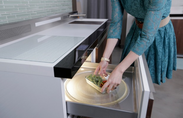 Ge Micro Kitchen - Small Space Kitchen Design