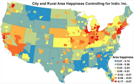 And The Happiest City In America Is