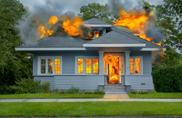 Plan For Escaping A House Fire Home Fire Saftey