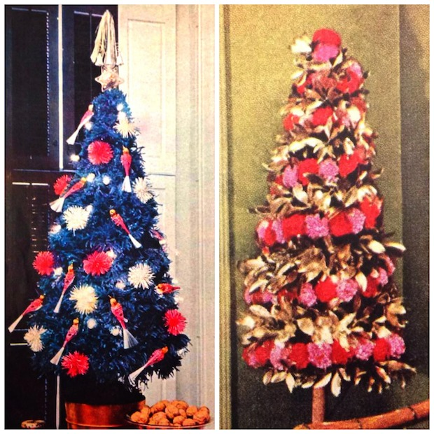 1950s Christmas Trees - Throwback Thursday Christmas Trees