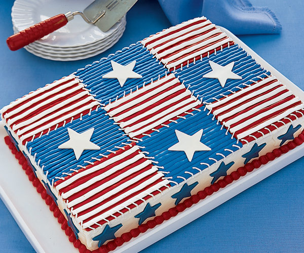 Cake Decorating Ideas For July 4th : Best 4th of July Desserts We Love - Fourth of July Dessert ...
