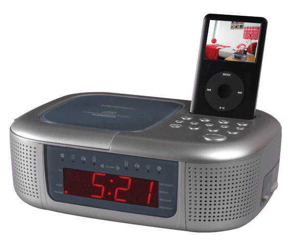 alarm clocks ipod dock nature sounds. Black Bedroom Furniture Sets. Home Design Ideas