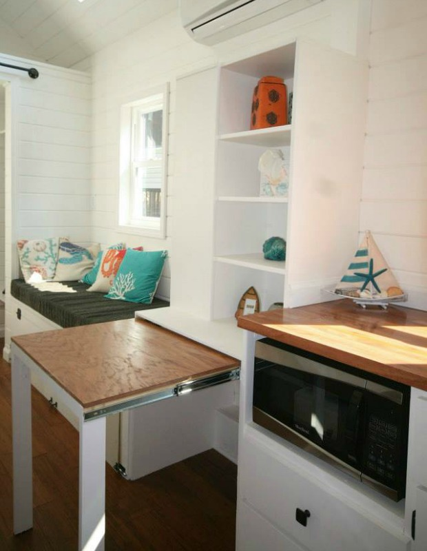 tiny house storage tricks - small space organizing