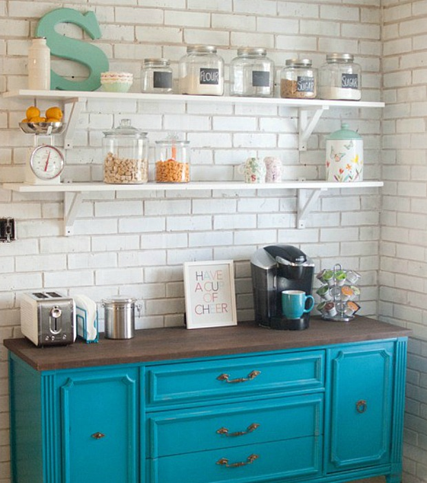 Kitchen Open Shelving - Why Open Shelving Works