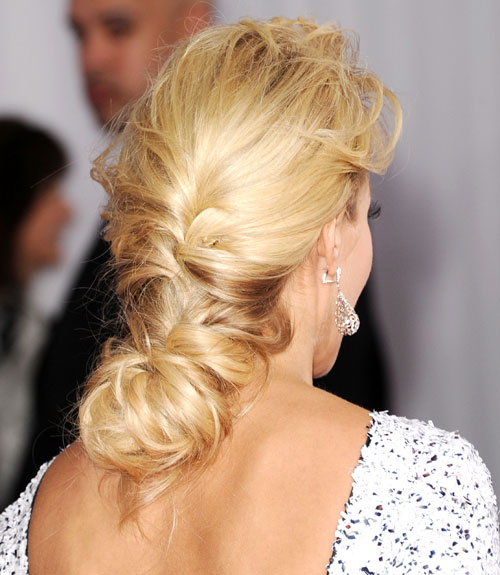 Enjoyable 45 Updos Inspired By Celebrities Easy Updo Hairstyles Hairstyles For Men Maxibearus