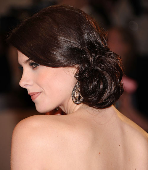 Updo Party Hairstyles : 48 updos inspired by celebrities easy updo hairstyles