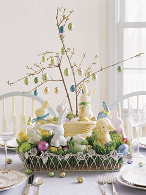 70 diy easter decorations ideas for homemade easter table and home decor - Easter Decorating Ideas