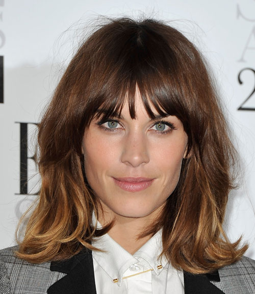 Hair Styles With Bangs: Celebrity Haircuts With Bangs