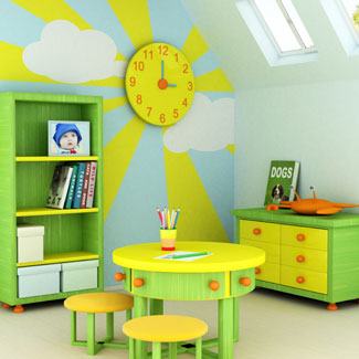 kids room decor - decorating kids rooms