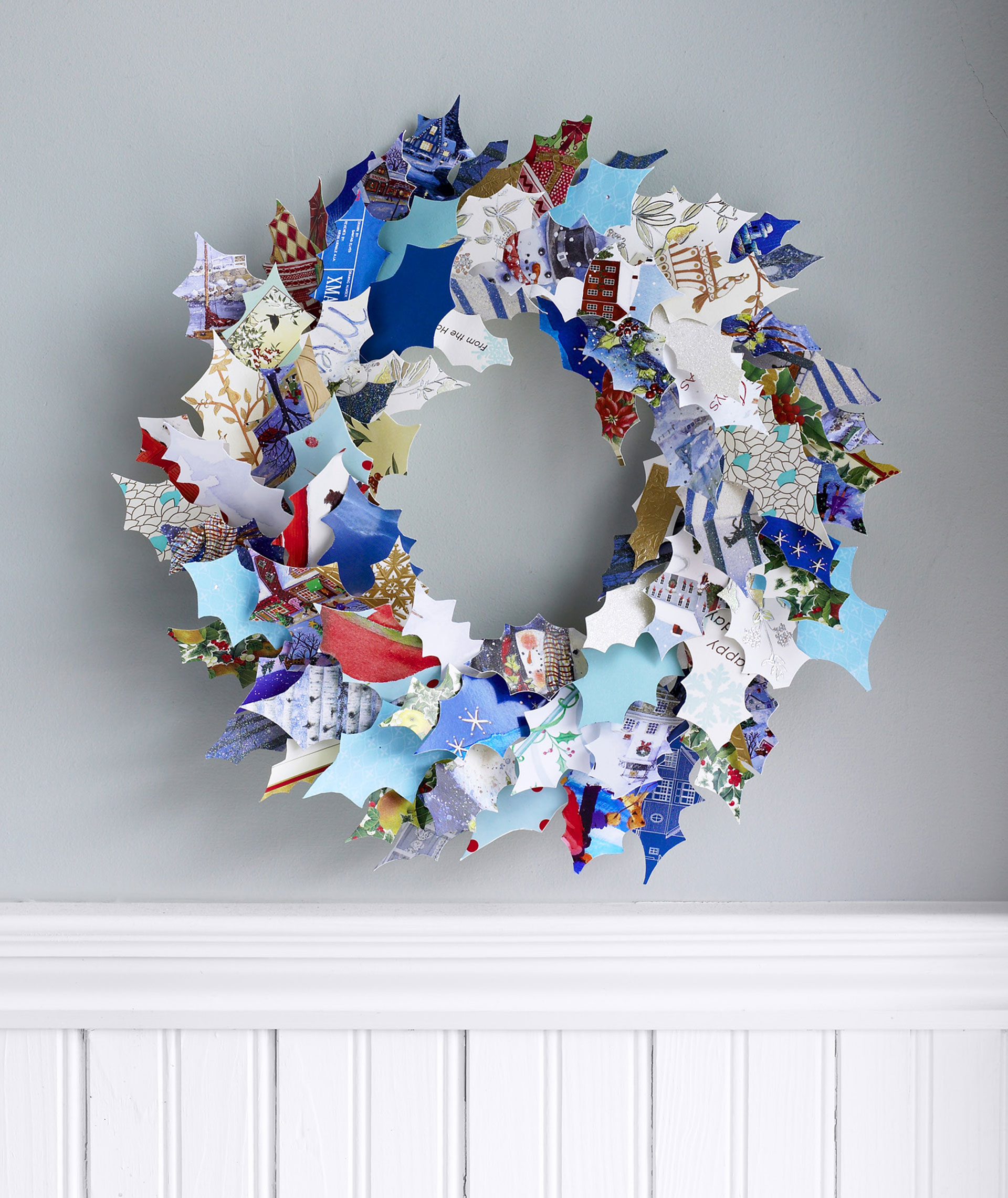 How to make a christmas decor out of recycled materials - How To Make A Christmas Decor Out Of Recycled Materials 13