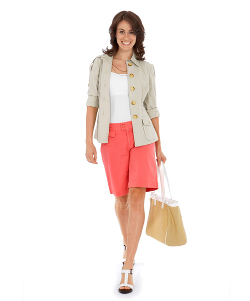 Womens Summer Shorts - Khakis, Bermudas and Casual Summer Shorts