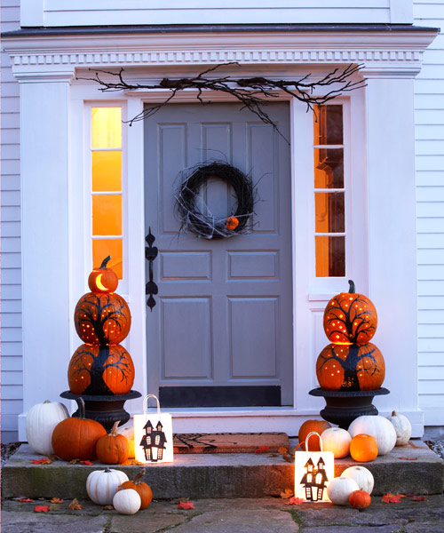 50 fun halloween decorating ideas 2016 easy halloween for How to make homemade halloween decorations
