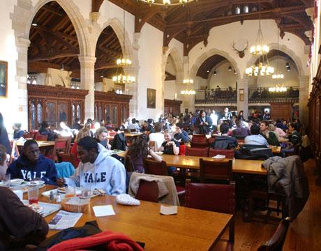 Yale University Cafeteria Images