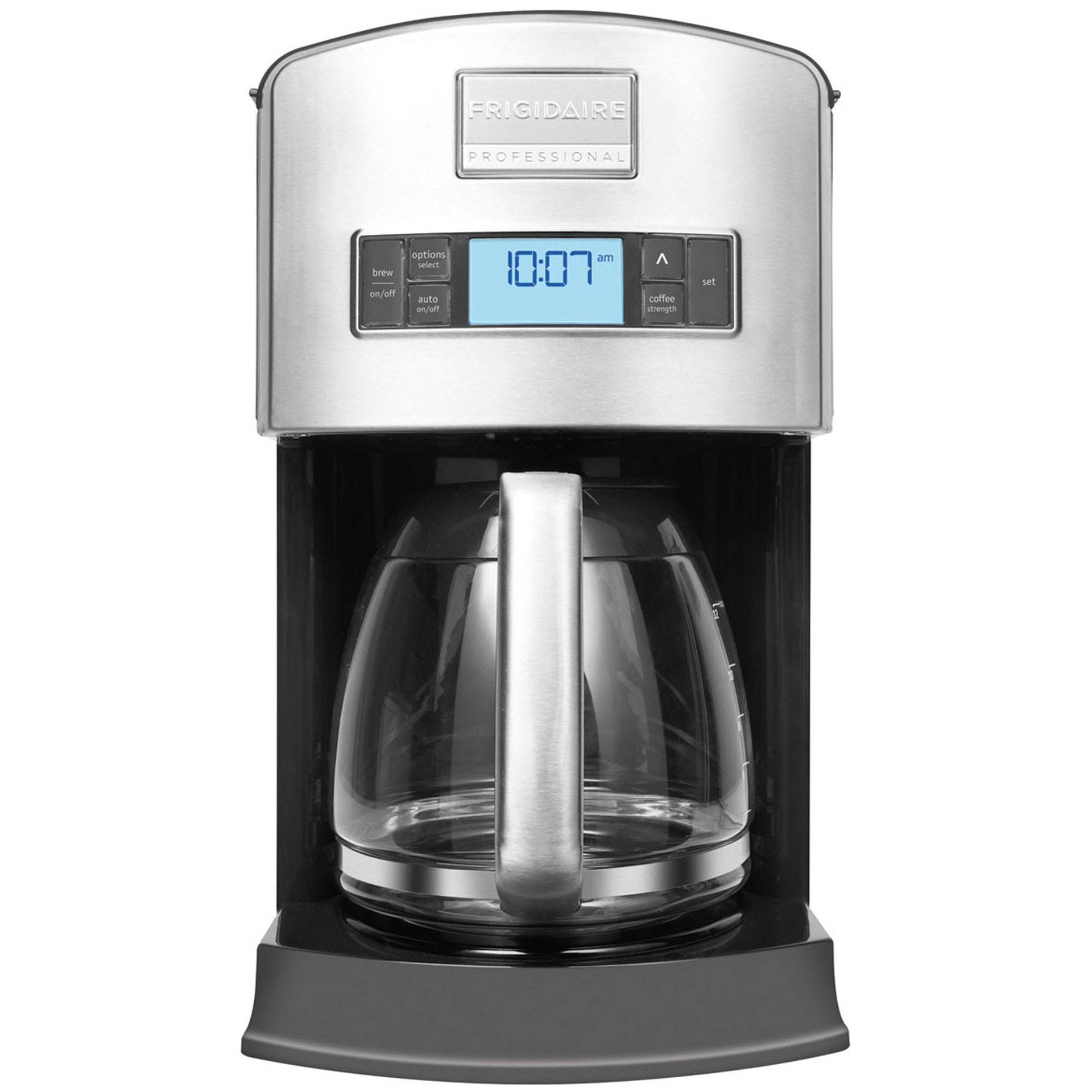 Handleiding Daalderop Professional Coffee Maker : Frigidaire Professional 12-Cup Drip Coffee Maker #FPDC12D7MS Review