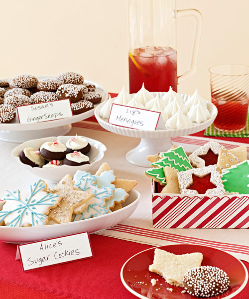 Christmas Cookie Exchange Party - Ideas for Cookie Party Swap