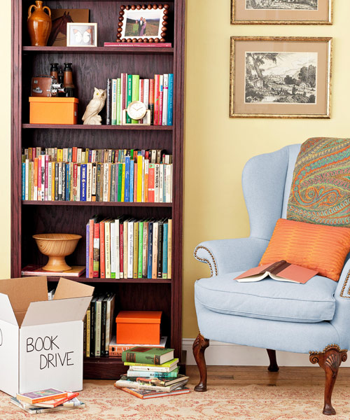 organize books - How To Organize Your Home