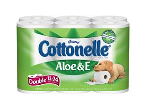 Kleenex Cottonelle Aloe Amp E Toilet Paper Review