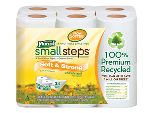 marcal small steps soft and strong toilet paper - Bathroom Tissue