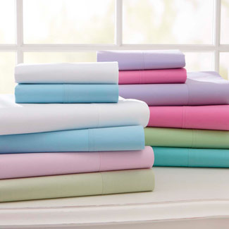 pbteen classic twin xl sheet set dorm bedding