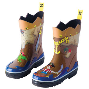 Kidorable Pirate Rain Boots Review
