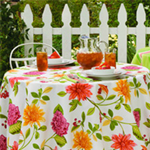 Bardwil Indoor Outdoor Tablecloth
