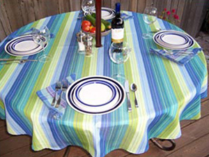 Outdoor Living Sunbrella Tablecloth