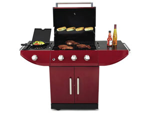 Kenmore Red 4 Burner 16151 Gas Grill Review