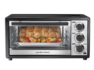 Countertop Roaster Oven Reviews : Hamilton Beach Toaster Oven 31508 Review