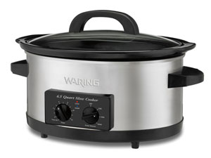 waring pro 65 qt slow cooker wsc650 - Waring Pro