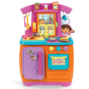 Dora Talking Kitchen Accessories Set