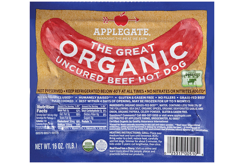Applegate Hot Dog Casing