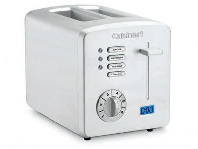 Cuisinart Countdown Metal 2 Slice Toaster Model Cpt 170
